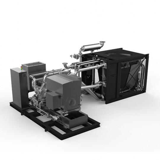 Турбокомпресори з повітряним охолодженням. Серія SA