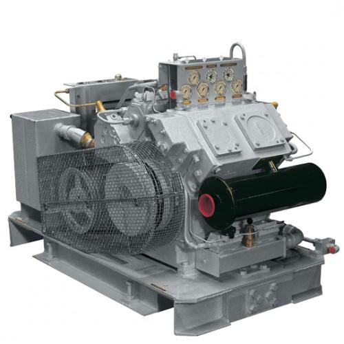 Змащувані компресори для газу та повітря. Продуктивність від 3,0 до 2400 м3/хв